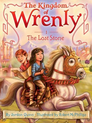Cover for The Lost Stone (The Kingdom of Wrenly #1)