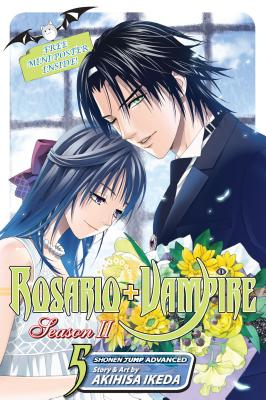 Rosario+Vampire Season II, Volume 5 Cover