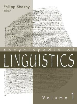 Cover for Encyclopedia of Linguistics