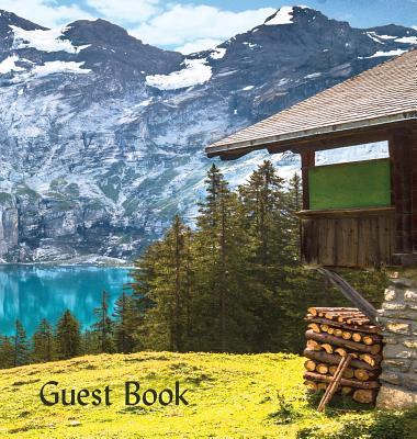 GUEST BOOK (Hardback), Visitors Book, Guest Comments Book, Vacation Home Guest Book, Cabin Guest Book, Visitor Comments Book, House Guest Book: Commen Cover Image