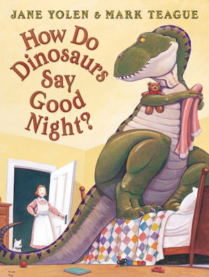 How Do Dinosaurs Say Good Night? (Scholastic Bookshelf) Cover Image