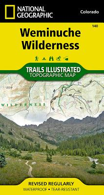 Weminuche Wilderness (National Geographic Maps: Trails Illustrated #140) Cover Image