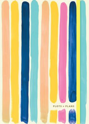 Plots & Plans: Bright Stripes: (Organizational Planner and Notebook, Weekly Productivity Journal) Cover Image