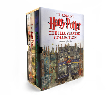 Harry Potter: Illustrated Collection (Books 1-3 Boxed Set) Cover Image