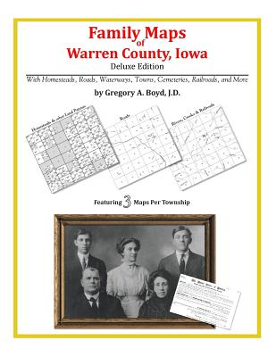 Family Maps of Warren County, Iowa Cover Image