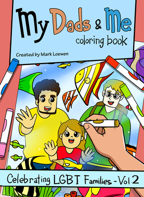 Cover for My Dads & Me Coloring Book