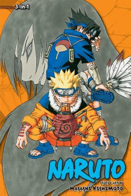 Naruto (3-in-1 Edition), Vol. 3 cover image