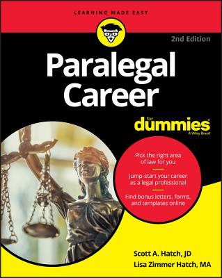 Paralegal Career for Dummies Cover Image