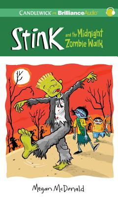 Stink and the Midnight Zombie Walk (Stink (Audio) #7) Cover Image