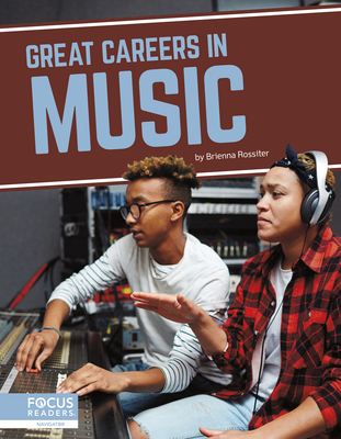 Great Careers in Music Cover Image