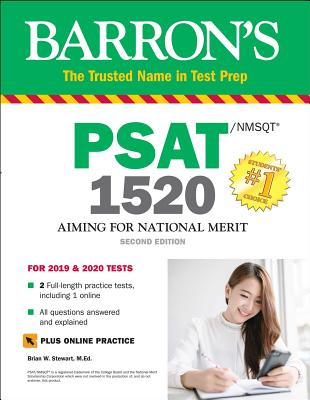 PSAT/NMSQT 1520 with Online Test (Barron's Test Prep) Cover Image