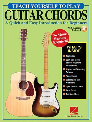 Teach Yourself to Play Guitar Chords: A Quick and Easy Introduction for Beginners Cover Image