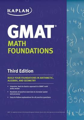 Kaplan GMAT Math Foundations Cover Image