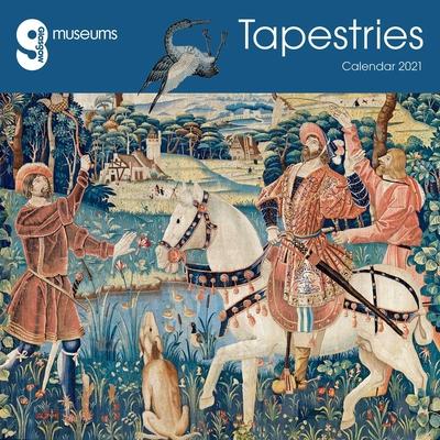 Glasgow Museums - Tapestries Wall Calendar 2021 (Art Calendar) Cover Image