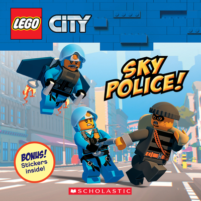 Sky Police! (LEGO City: Storybook with Stickers) Cover Image
