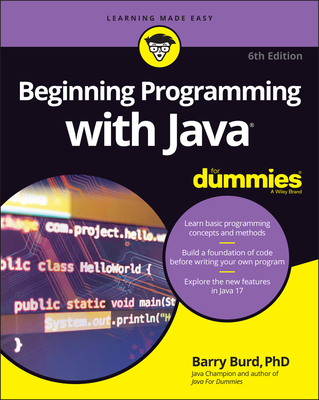 Beginning Programming with Java for Dummies Cover Image