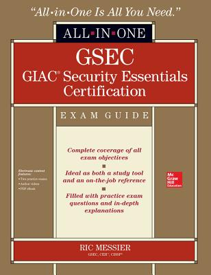 GSEC GIAC Security Essentials Certification Exam Guide [With CDROM] (All-In-One) Cover Image