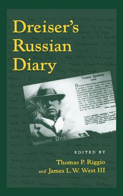 Dreiser's Russian Diary Cover
