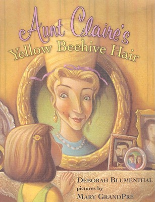 Aunt Claire's Yellow Beehive Hair Cover
