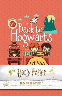 Harry Potter: Back to Hogwarts Hardcover Ruled Journal Cover Image