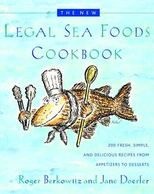 The New Legal Sea Foods Cookbook Cover