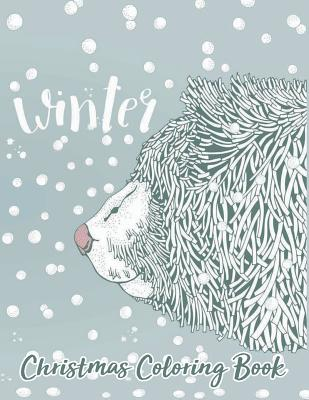 Christmas Coloring Book Winter: Relaxation for Adults Older Kids Cover Image