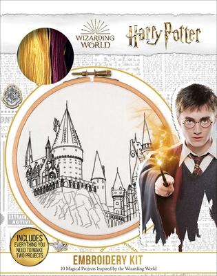 Harry Potter Embroidery (Embroidery Craft) Cover Image