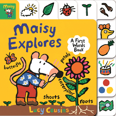 Maisy Explores: A First Words Book Cover Image
