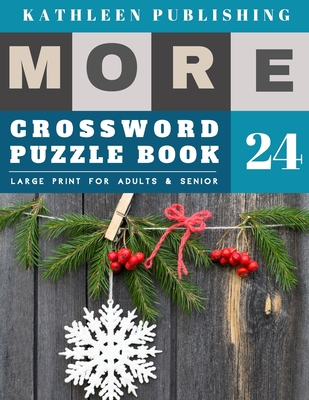 Crossword Puzzles Large Print: crosswords for teenagers - More 50 Easy Puzzles Large Print Crosswords to Keep you Entertained for Hours - christmas s Cover Image