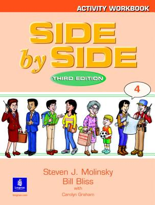 Side by Side Activity Workbook 4 Cover