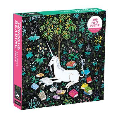 Puz 500 Family Unicorn Reading Cover Image