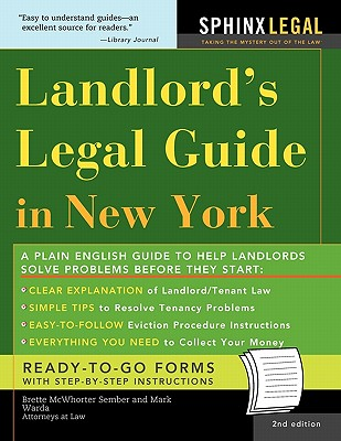 Landlord's Legal Guide in New York Cover Image