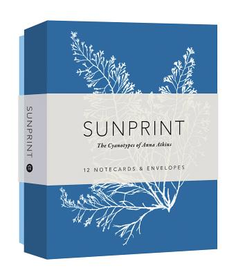 Sunprint Notecards: The Cyanotypes of Anna Atkins  (12 notecards; 12 designs; matching envelopes; keepsake box) Cover Image