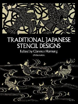 Traditional Japanese Stencil Designs (Dover Pictorial Archive) Cover Image