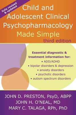 Child and Adolescent Clinical Psychopharmacology Made Simple Cover Image