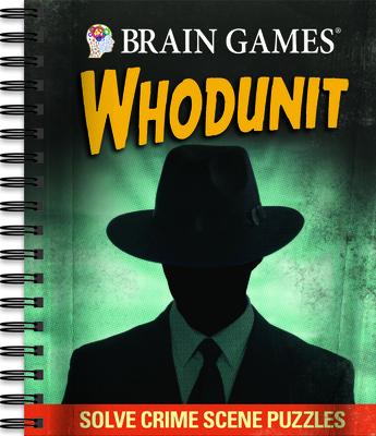 Brain Games - Whodunit: Solve Crime Scene Puzzles Cover Image