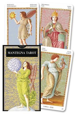 Mantegna Tarot: Tarot Cards with Silver Decoration, Instructions Cover Image