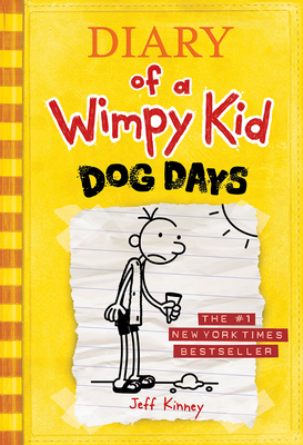 Dog Days (Diary of a Wimpy Kid #4) Cover Image