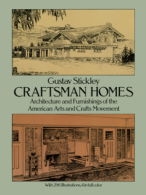 Craftsman Homes (Dover Architecture) Cover Image