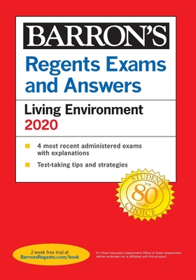 Regents Exams and Answers: Living Environment 2020 (Barron's Regents NY) Cover Image