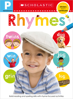Rhymes Pre-K Workbook: Scholastic Early Learners (Skills Workbook) Cover Image