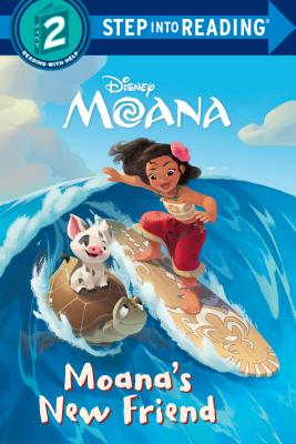 Moana's New Friend (Disney Moana) (Step into Reading) Cover Image