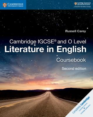 Cambridge IGCSE and O Level Literature in English Coursebook (Cambridge International Igcse) Cover Image