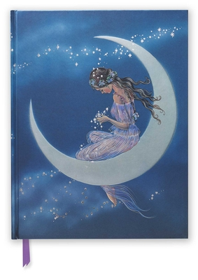 Jean & Ron Henry: Moon Maiden (Blank Sketch Book) (Luxury Sketch Books #58) Cover Image