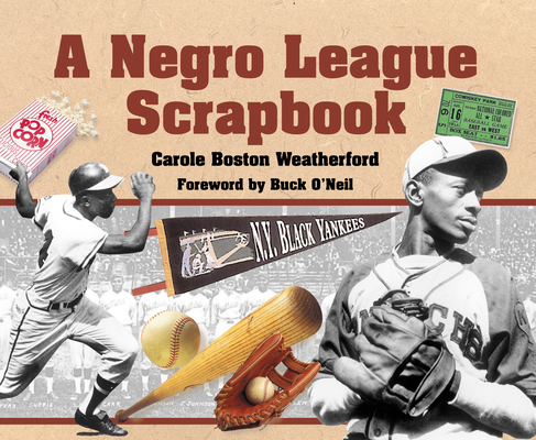 A Negro League Scrapbook Cover