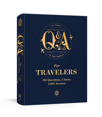 Q&A a Day for Travelers: 365 Questions, 3 Years, 1,095 Answers Cover Image