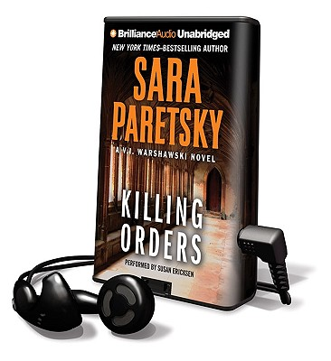 Killing Orders [With Earbuds] (Playaway Adult Fiction) Cover Image