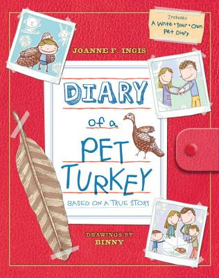 Diary of a Pet Turkey [With Diary] Cover Image