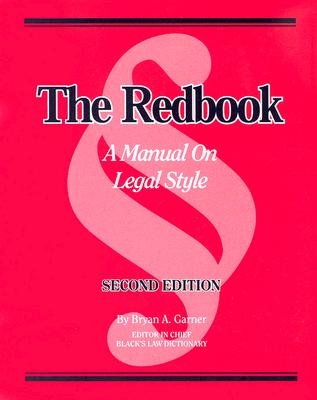 The Redbook: A Manual on Legal Style Cover Image