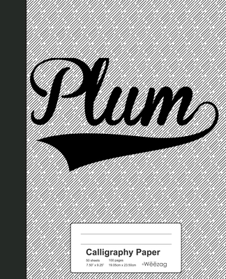 Calligraphy Paper: PLUM Notebook Cover Image